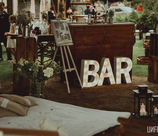 Nasz rustykalny bar!