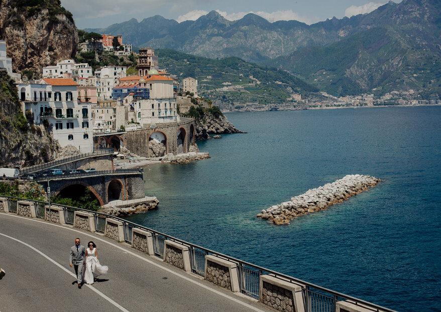 Czar Włoch - sesja na pięknym wybrzeżu Amalfitańskim
