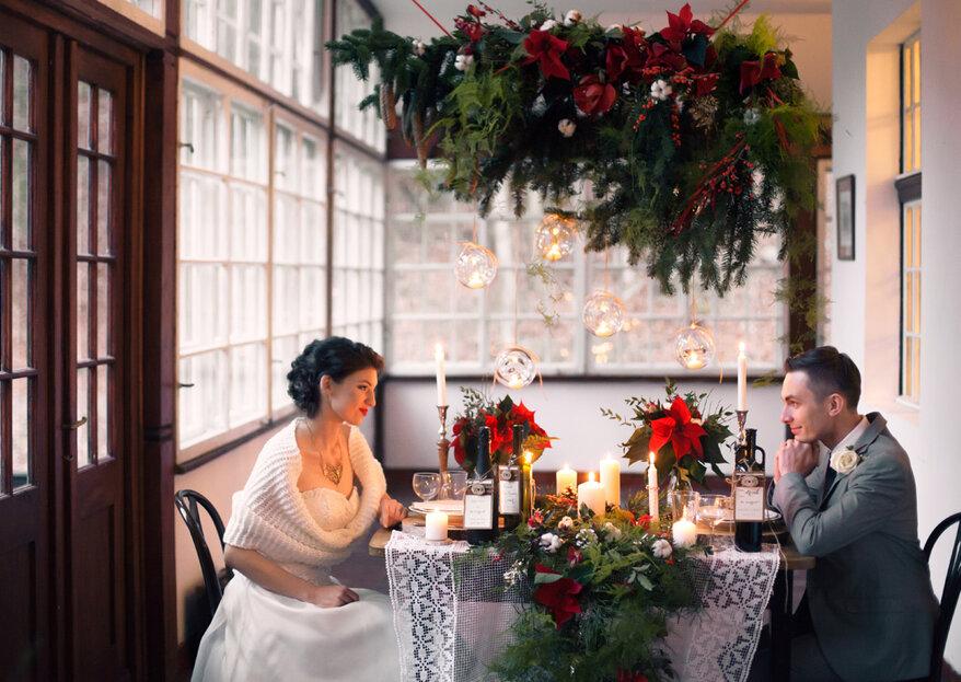 8 powodów, aby wziąć ślub w zimię!