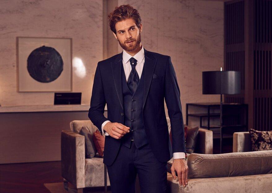 Gdzie kupić garnitur ślubny?
