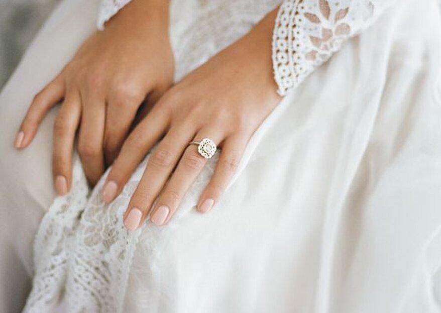 Paznokcie ślubne - poznaj trendy i inspiracje na ten rok