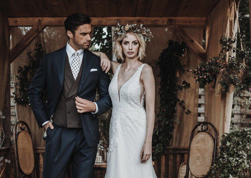 W jaki sposób dobrać garnitur aby pasował do sukni ślubnej?