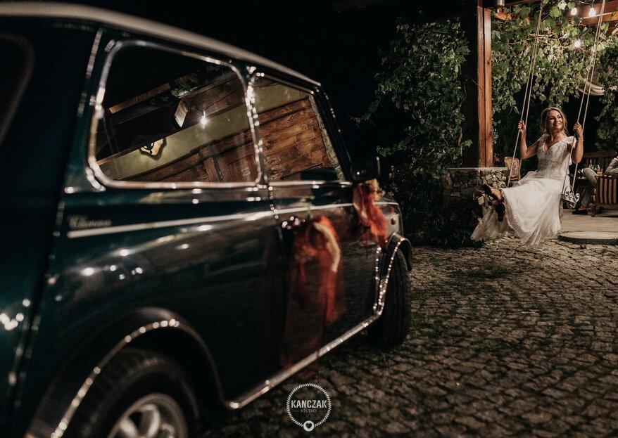 Pomysły na własnoręczne ozdobienie samochodu ślubnego