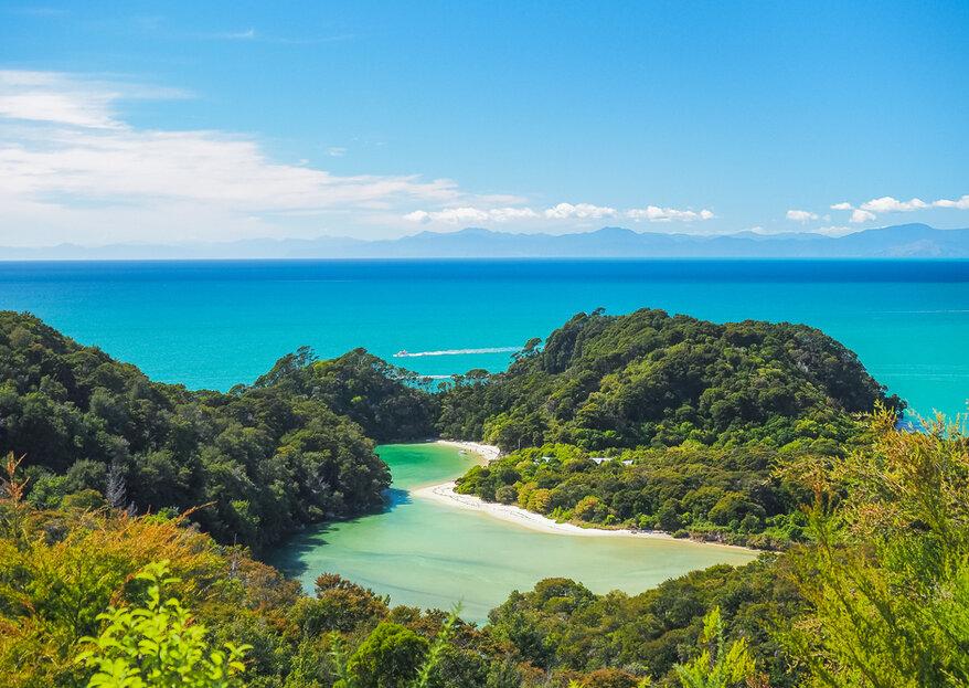 Miesiąc miodowy w Nowej Zelandii: fantazja w naszej rzeczywistości