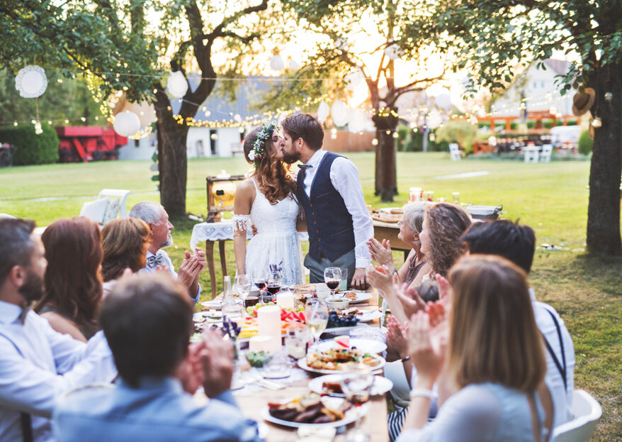 Przyjęcie weselne na łonie natury