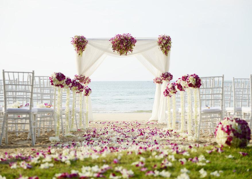 Pomysł na bramę weselną przed domem Panny Młodej