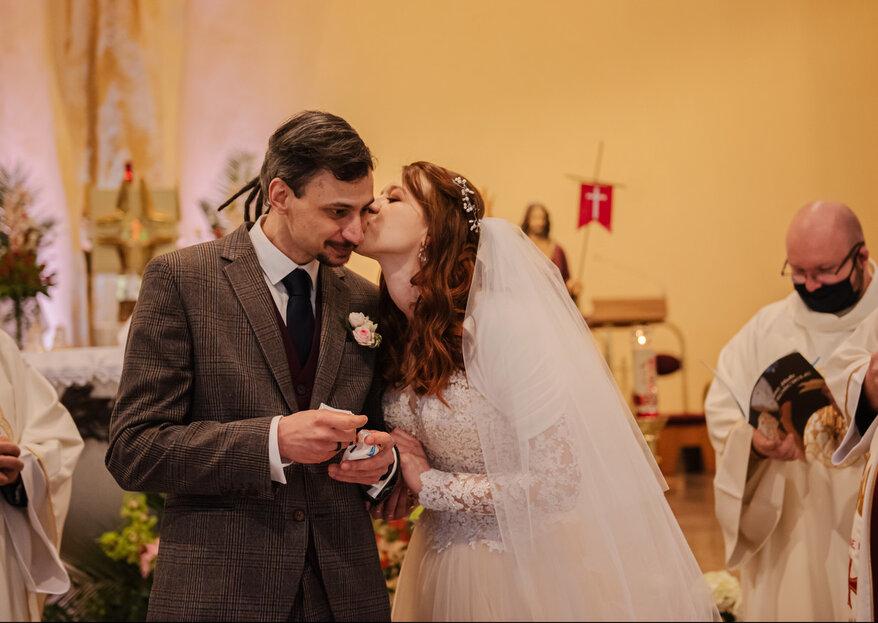 Ślub w czasie pandemii - historia Michaliny i Szymona