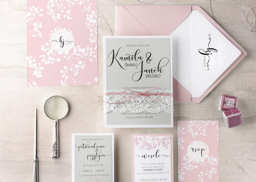 Zaproszenie ślubne - najnowsze trendy