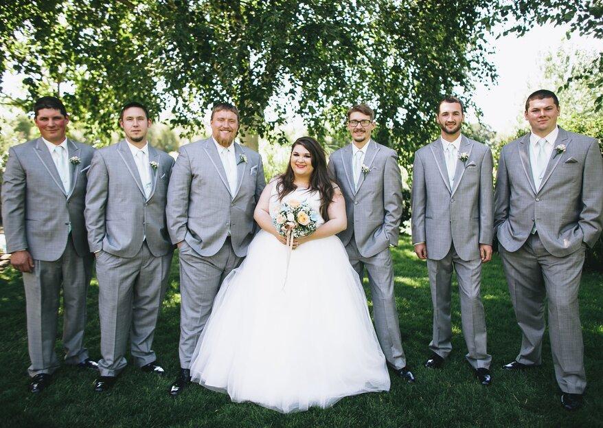 Jaki garnitur ślubny dla pana z brzuszkiem?