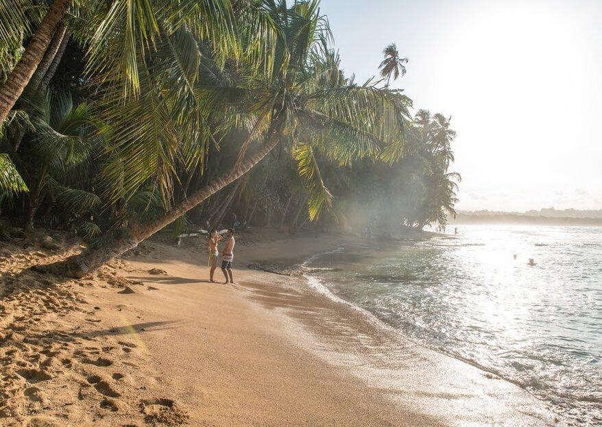 Odwiedź raj podczas miesiąca miodowego w Kostaryce!