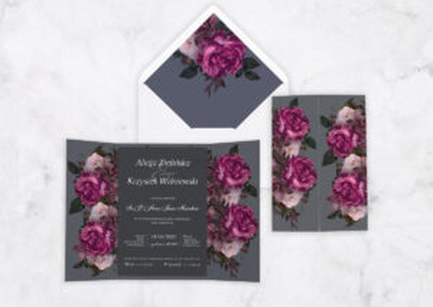 Trendy w zaproszeniach ślubnych