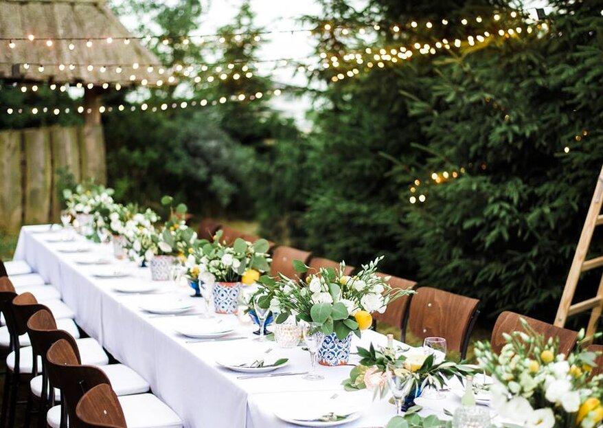 Jak udekorować rustykalne wesele w 5 krokach: odkryj najmodniejsze sztuczki