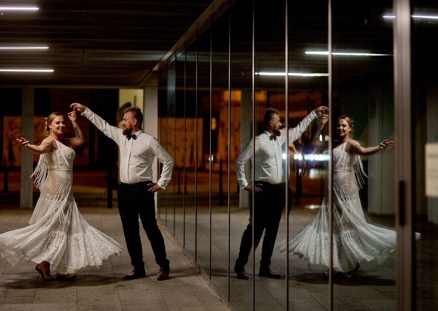 Ślub w stylu modern boho - Judyta i Michał