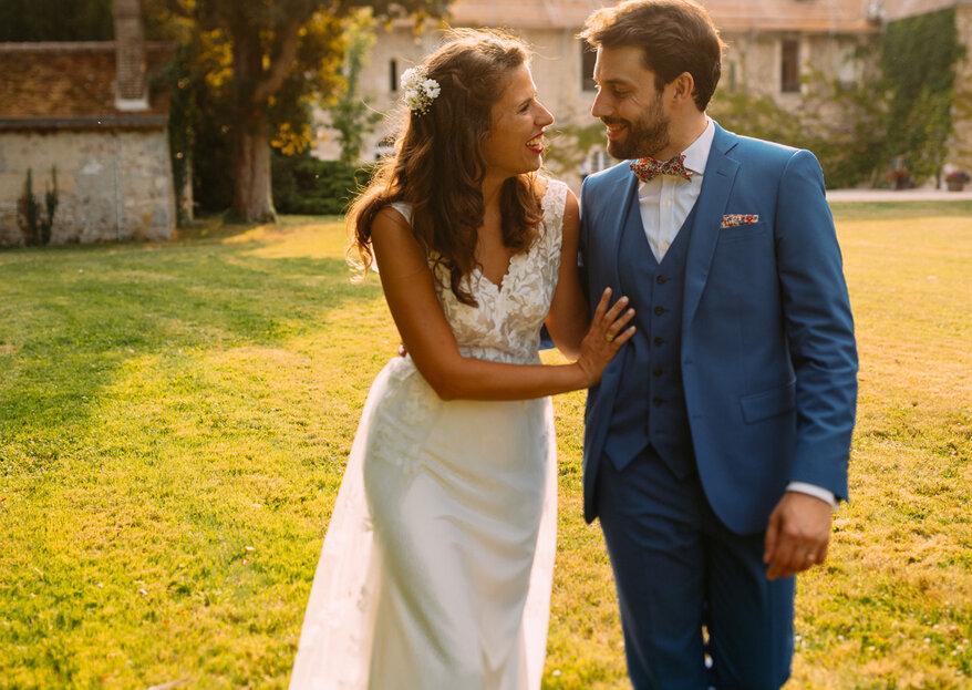 Patriotyzm po francusku - klimatyczny reportaż ślubny Alex i Nico
