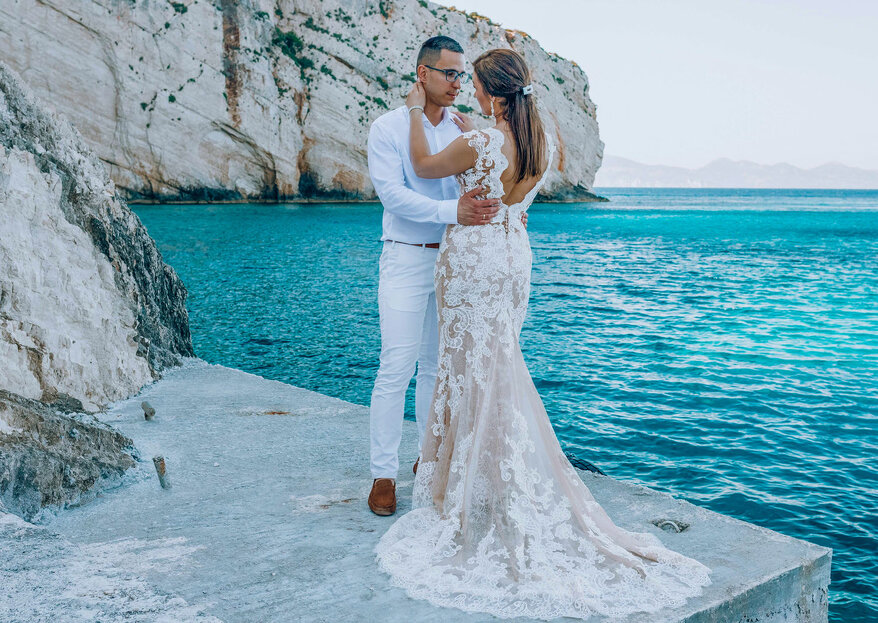 Bajkowy ślub Agnieszki i Łukasza na Zakynthos