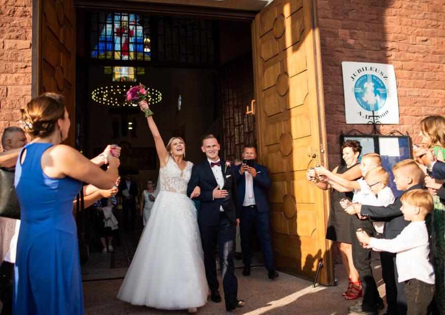 Życzenia ślubne: Krótkie życzenia ślubne dla nowożeńców