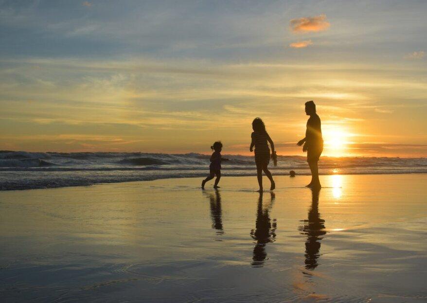 Jak zorganizować podróż poślubną z dziećmi?
