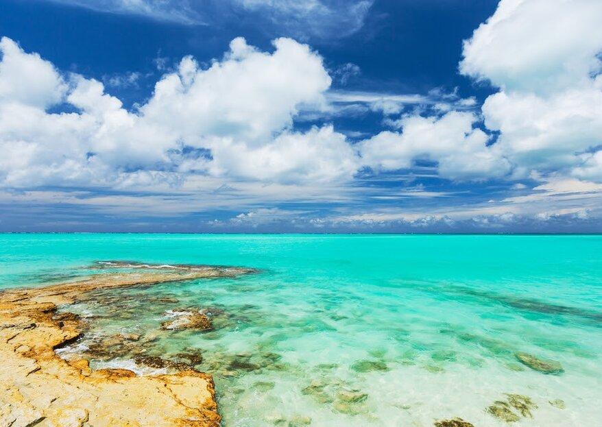 Miesiąc miodowy na wyspach Turks i Caicos: klejnot na wodach Atlantyku na Karaibach!