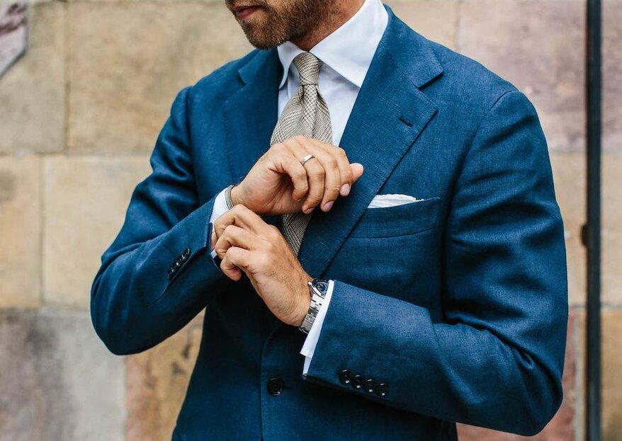 8 ważnych porad związanych z ubiorem, dla mężczyzny na czas ślubu i wesela