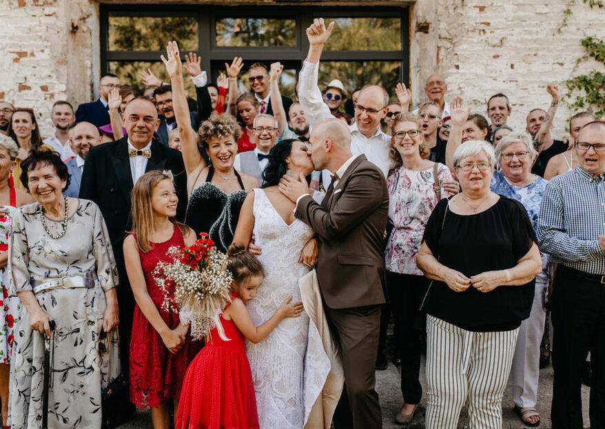 Dzienne wesele – plusy i minusy wyjątkowego dnia, który kończy się przed północą!