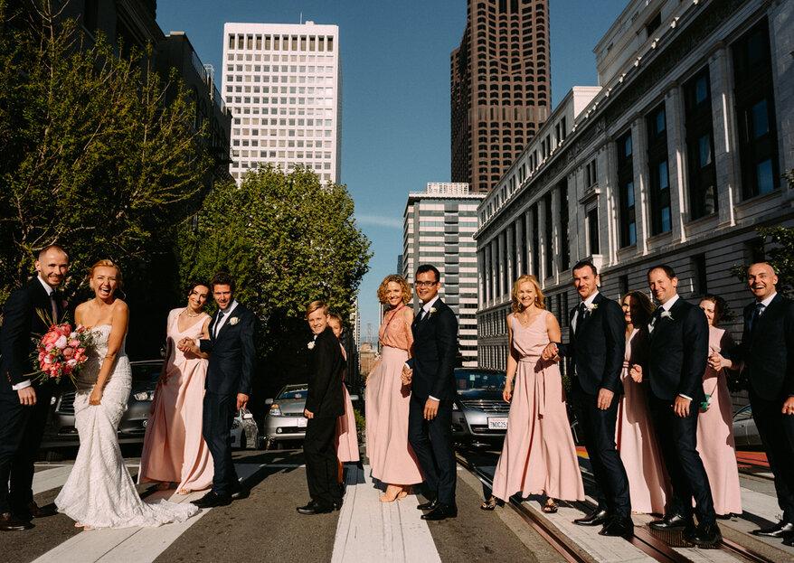 Radość w San Francisco, czyli polsko - australijskie wesele Gosi i Steva