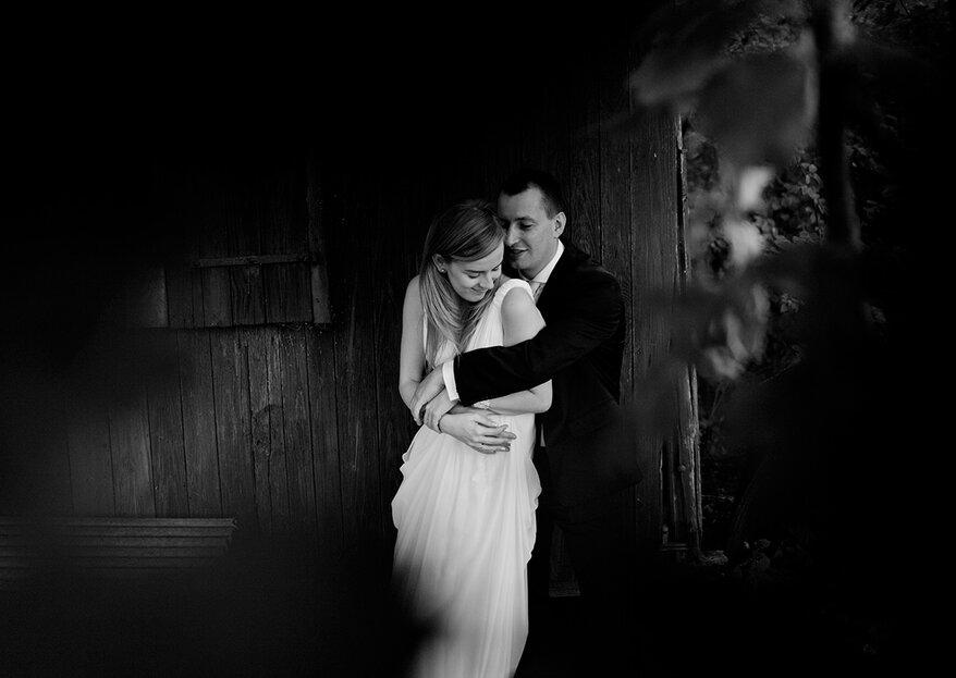 Czarno-biała fotografia ślubna. Passe czy klasyka?