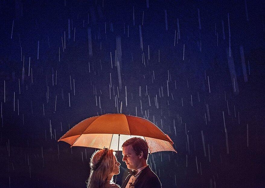 Jak przetrwać deszczowy ślub i wesele?